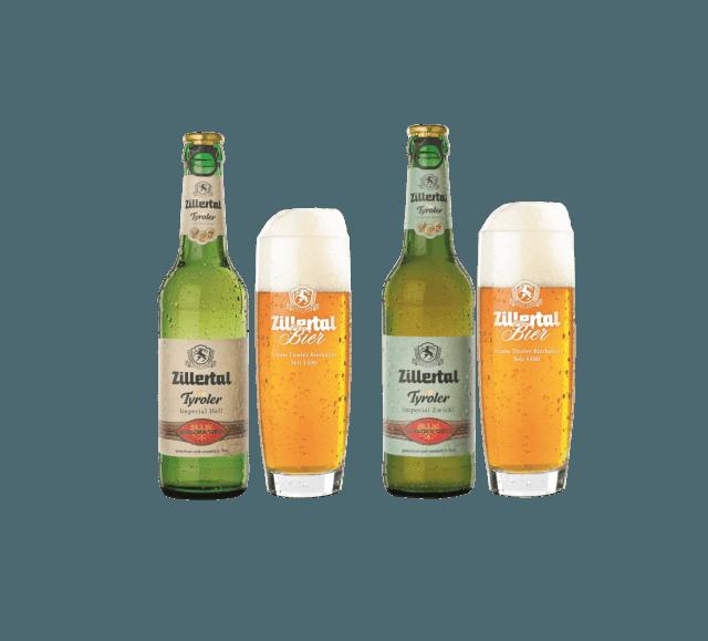 Tyroler Bierspezialitäten