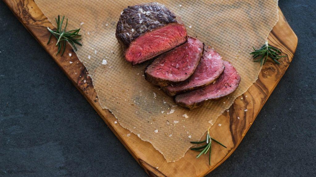 Huftsteak vom Qualitätsfleisch